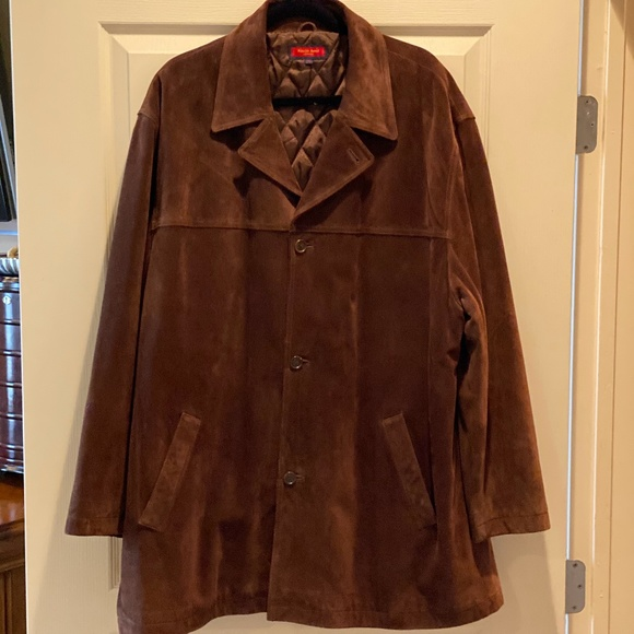 Austin Reed Jackets Coats Mens Austin Reed Brown Suede Jacket Poshmark